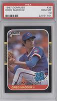 Greg Maddux [PSA 10]