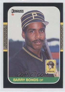 1987 Donruss #361 - Barry Bonds
