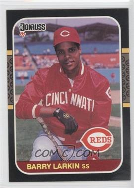 1987 Donruss #492 - Barry Larkin