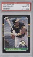 Jose Canseco [PSA 8]
