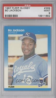 1987 Fleer - [Base] - Factory Set Glossy #369 - Bo Jackson [PSA 9]