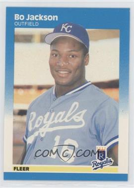 1987 Fleer Factory Set Glossy #369 - Bo Jackson