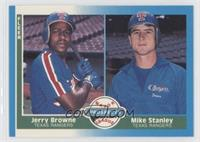 Jerry Browne, Mike Stanley