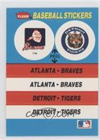 Atlanta Braves, Detroit Tigers