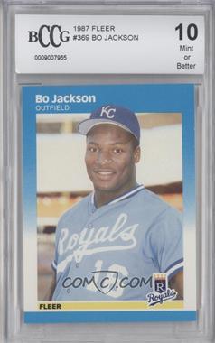 1987 Fleer #369 - Bo Jackson [ENCASED]
