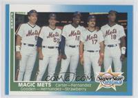 Magic Mets (Gary Carter, Sid Fernandez, Dwight Gooden, Keith Hernandez, Darryl …