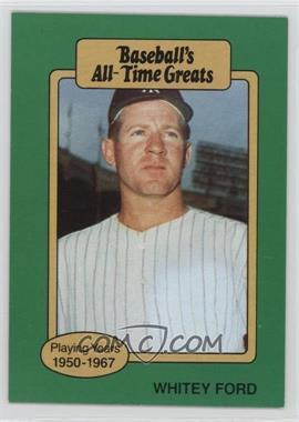 1987 Hygrade Baseball's All-Time Greats #WHFO - Whitey Ford