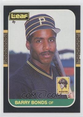 1987 Leaf Canadian #219 - Barry Bonds