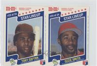Tony Gwynn, Ozzie Smith