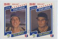 Dale Murphy, Jose Canseco