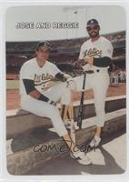 Jose Canseco, Reggie Jackson