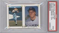 Mitch Webster, Roger Clemens [PSA 9]