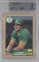 Jose Canseco [BGS 9]