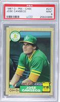 Jose Canseco [PSA 9]