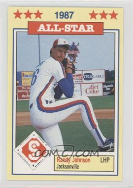 1987 Southern League All-Stars #16 - Randy Johnson