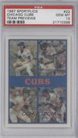 Chicago Cubs Team [PSA 10]