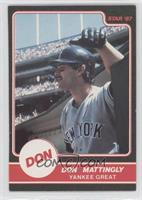 Don Mattingly (Yankee Great Puzzle Back in dugout)