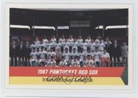 1987 Pawtucket Red Sox Team