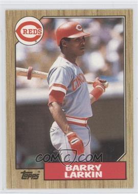 1987 Topps - [Base] - Box Set Collector's Edition (Tiffany) #648 - Barry Larkin