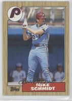 Mike Schmidt (Wally Backman back)