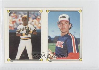 1987 Topps Album Stickers Test Issue [Base] Hard Back #N/A - Neil Allen, Barry Bonds