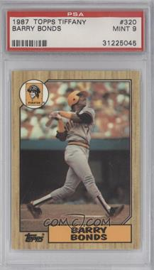 1987 Topps Box Set [Base] Collector's Edition (Tiffany) #320 - Barry Bonds [PSA 9]