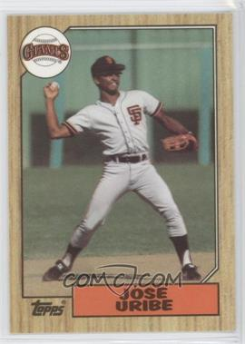 1987 Topps Box Set [Base] Collector's Edition (Tiffany) #633 - Jose Uribe