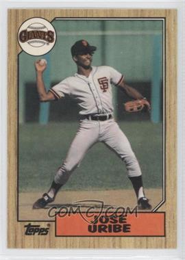 1987 Topps Box Set [Base] Collector's Edition (Tiffany) #633 - Jose Uribe