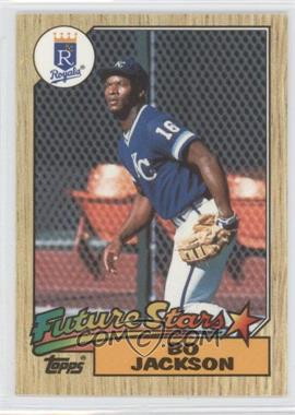1987 Topps Box Set Collector's Edition (Tiffany) #170 - Bo Jackson