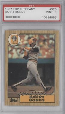 1987 Topps Collector's Edition (Tiffany) #320 - Barry Bonds [PSA9]
