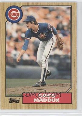 1987 Topps Traded #70T - Greg Maddux