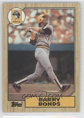 1987 Topps #320 - Barry Bonds