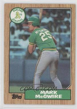 1987 Topps #366 - Mark McGwire