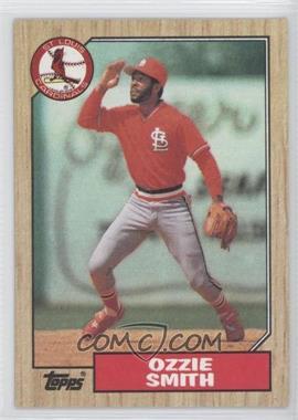 1987 Topps #749 - Ozzie Smith