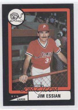 1988-89 BYN Puerto Rico Winter League #1 - Jim Essian