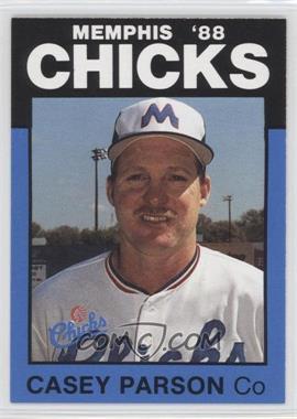 1988 Best Memphis Chicks #9 - Casey Parsons