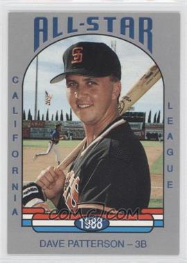 1988 California League All-Stars #1 - [Missing]