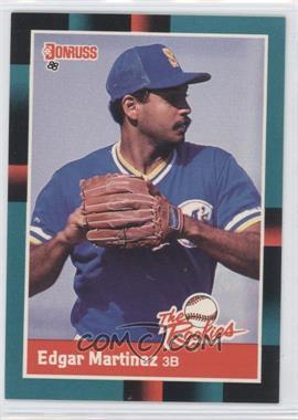 1988 Donruss The Rookies #36 - Edgar Martinez