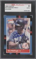 Don Mattingly [SGC AUTHENTIC AUTO]