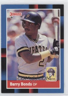 1988 Donruss #326 - Barry Bonds