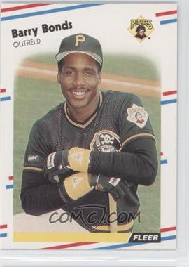 1988 Fleer - [Base] #322 - Barry Bonds