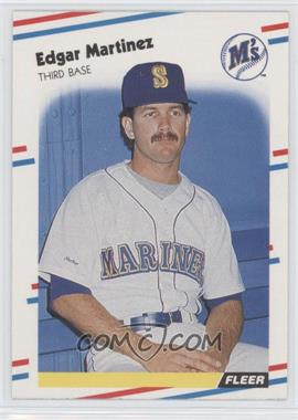 1988 Fleer - [Base] #378 - Edgar Martinez