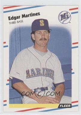 1988 Fleer Glossy #378 - Edgar Martinez