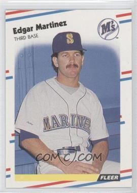 1988 Fleer Glossy #378 - Edgar Martinez
