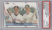 Pat Tabler, Mark McGwire [PSA 10]