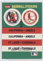 California Angels Team, St. Louis Cardinals Team