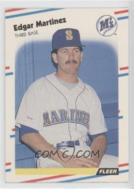 1988 Fleer #378 - Edgar Martinez