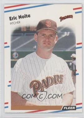 1988 Fleer #593 - Eric Nolte