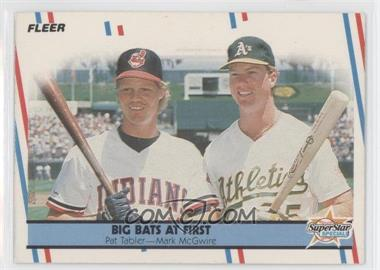 1988 Fleer #633 - Pat Tabler, Mark McGwire