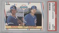 Mark Grace, Darrin Jackson [PSA 9]